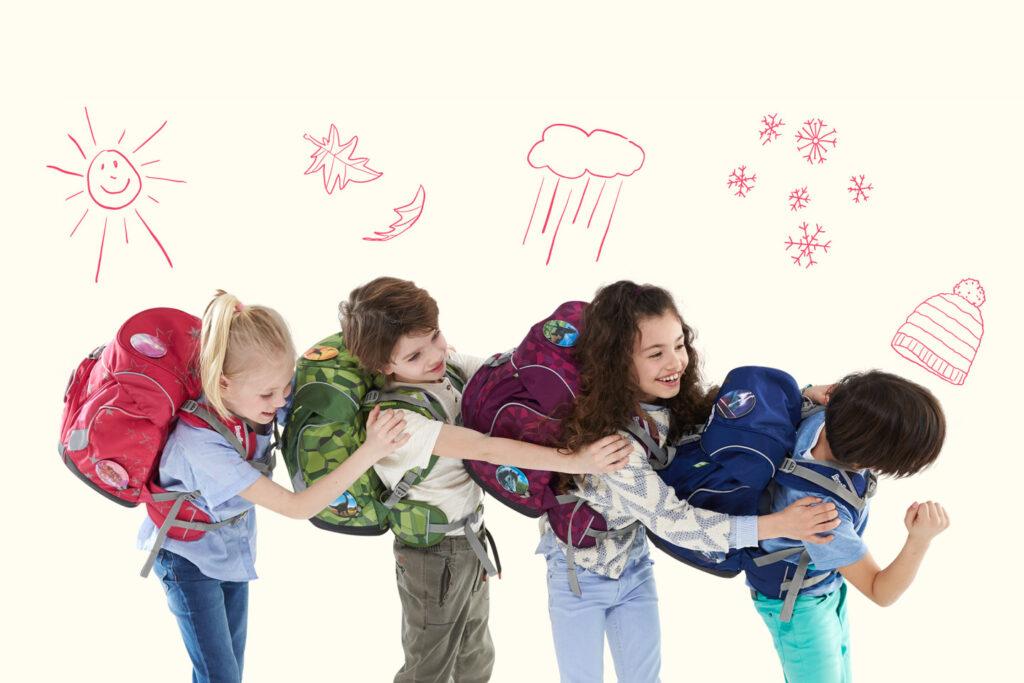Zaini Ergobag ergonomici per bambini