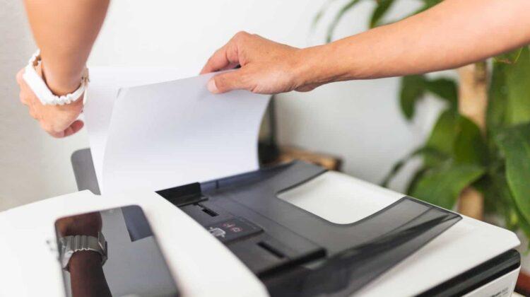 Carta stampante ufficio