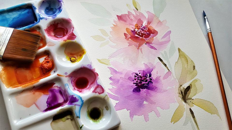 pittura ad acquarello