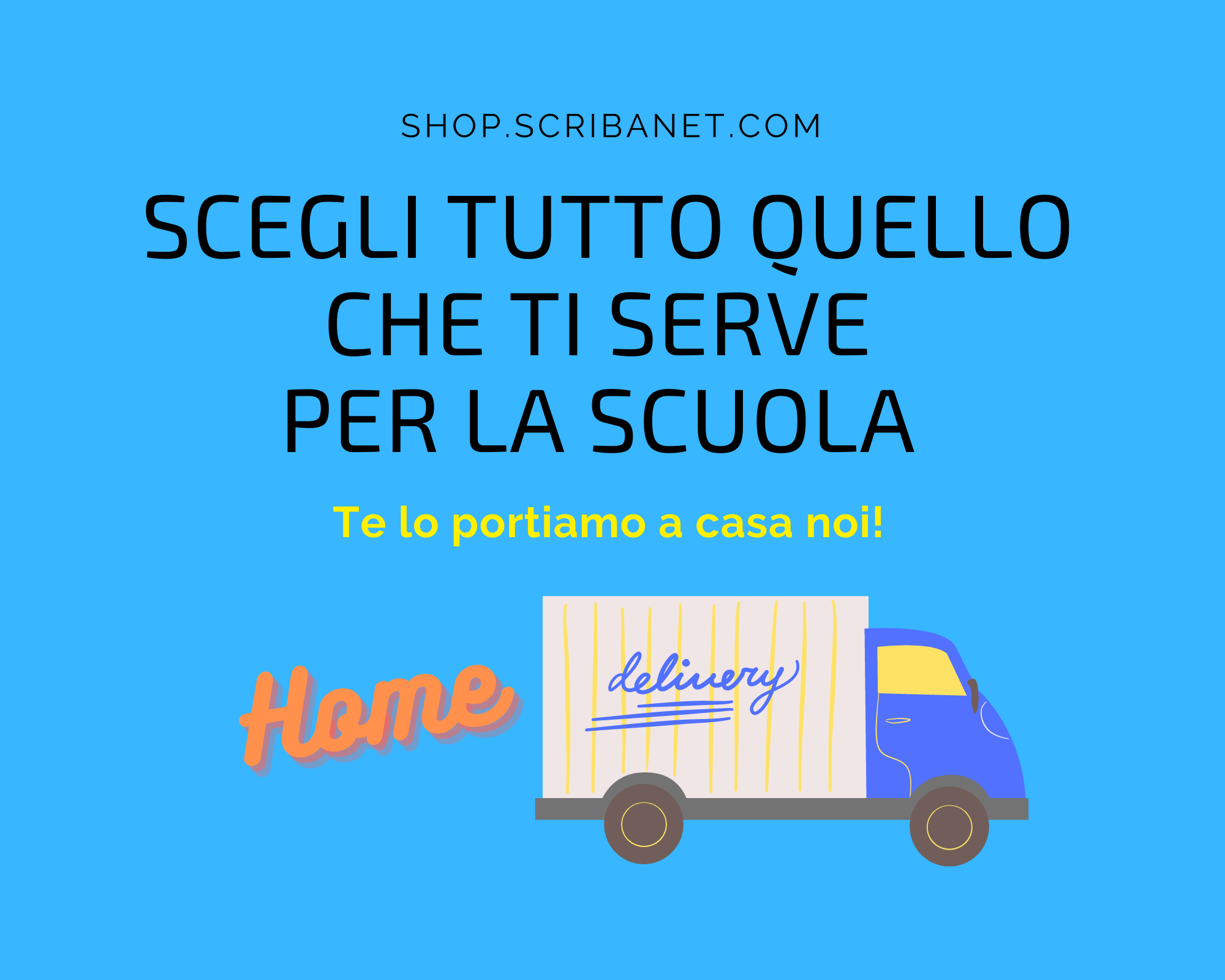Servizio di Home delivery