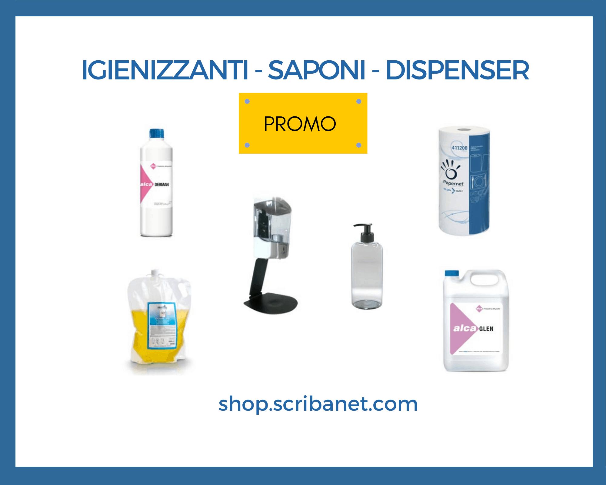Igienizzanti e saponi