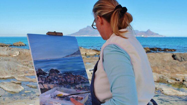 Dipingere all'aperto