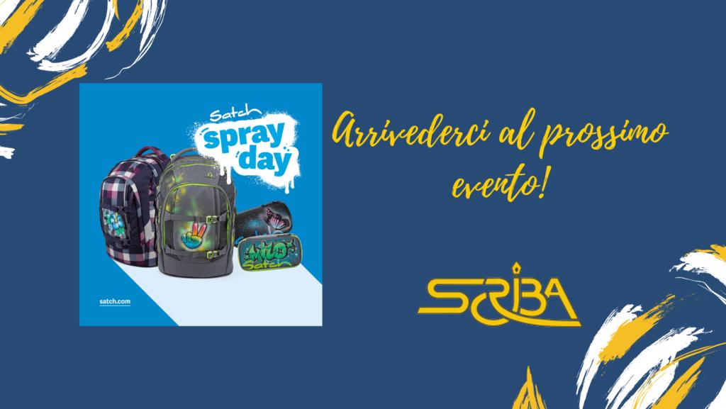 Satch spray-day