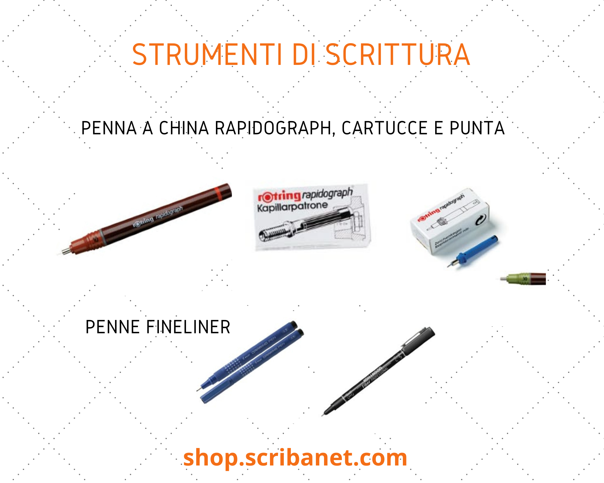 Disegno Tecnico: penne